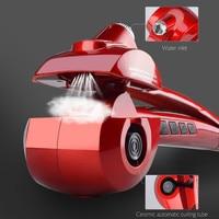 CkeyiN Professional Automatic Hair Steam Curler Electric Hair Curler Ceramic Curling Iron Wand Auto Steam Spray