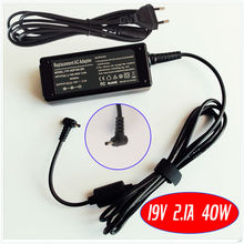 Нетбуки Ac Мощность адаптер Зарядное устройство 19V 2.1A для ASUS Eee PC 1018 1005HAB 1005HAG 1015 1015PED 1015T 1015B 1025CE 1025C 1225B 1225C