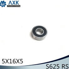 Bearings 625 ( 1 PC)  440C Stainless Steel Rings With Si3N4 Ceramic Balls Bearing S625
