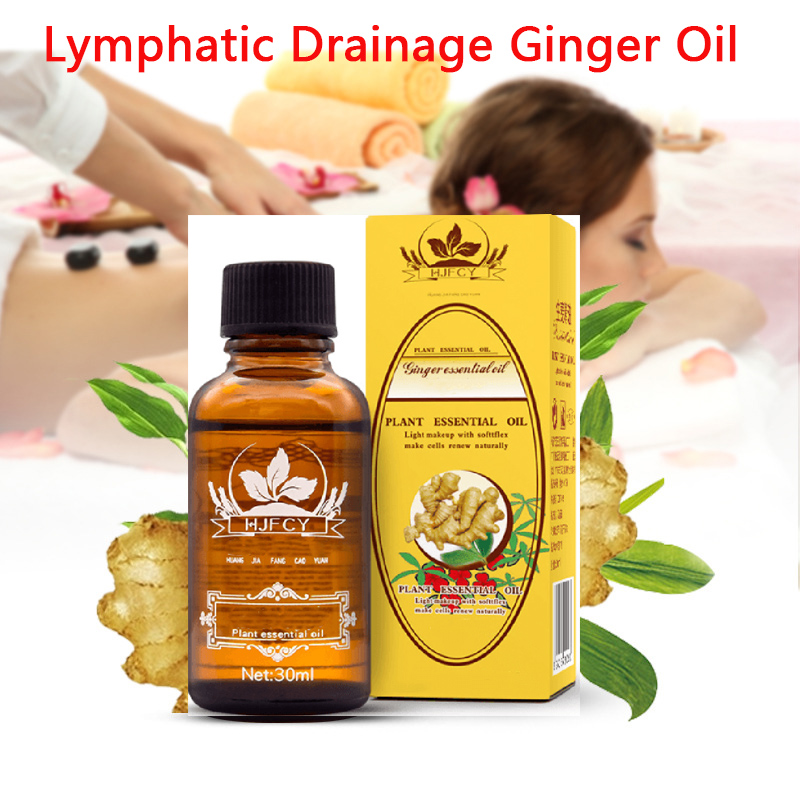 Plant Therapy Lymphatic Drainage Ginger Oil Natural Oil Antiperspirant Body Care 2018 New Arrval For Drop Shipping