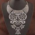 2015 moda exagerada colar declaração do Vintage colares e pingentes acessórios Collier Femme