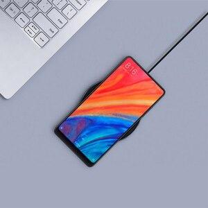 Image 2 - Nuovo Originale Xiaomi WPC01ZM 10W MAX Carica Rapida Qi Caricatore Senza Fili di Tipo C per il iPhone per Samsung Per huawei in magazzino