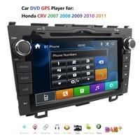 Car Radio for Honda CRV CR V 2007 2008 2009 2010 2011 8 inch DVD Player GPS Navigation Stereo Bluetooth DAB+ RDS SWC DVBT Camera