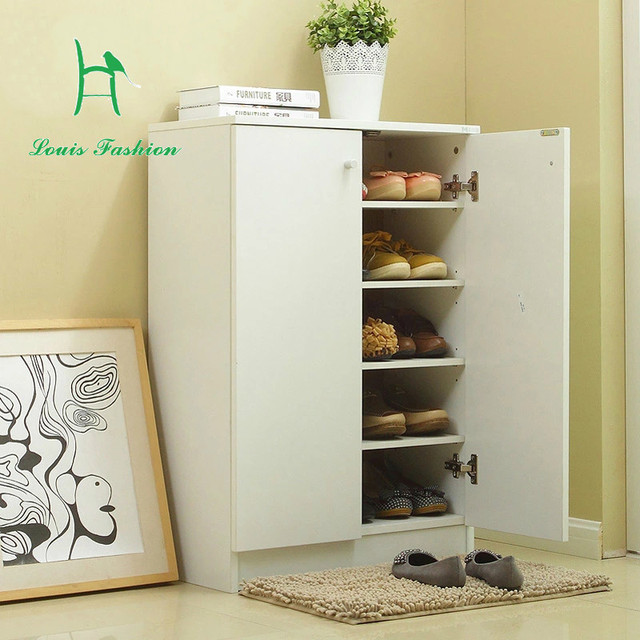 Meidasi Shoe Rack Cabinet Door Entrance Hall Simple Modern European Shoe  Storage Cabinet Thin Partition