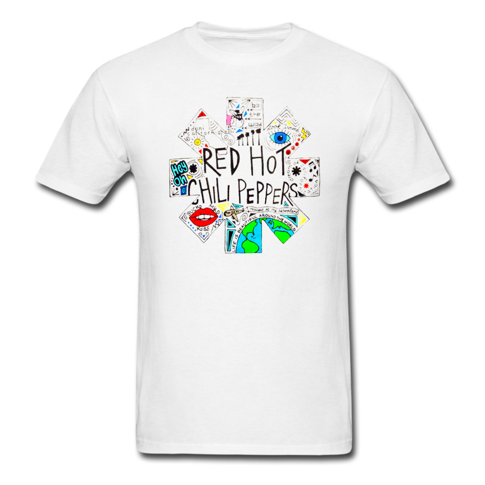 <font><b>RED</b></font> HOT CHILI PEPPERS Doodle <font><b>Logo</b></font> t shirt Men Women tee euro size S~<font><b>XXXL</b></font>