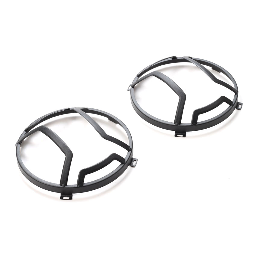 2Pcs set Car Front Head Light Lamp Guards Cover Trim Styling For Jeep Wrangler 2007 2016