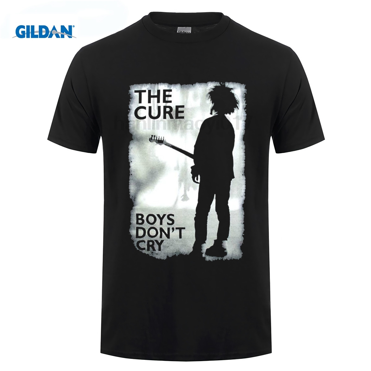Boys Don't Cry Official Men's Black & White T Shirt The Cure