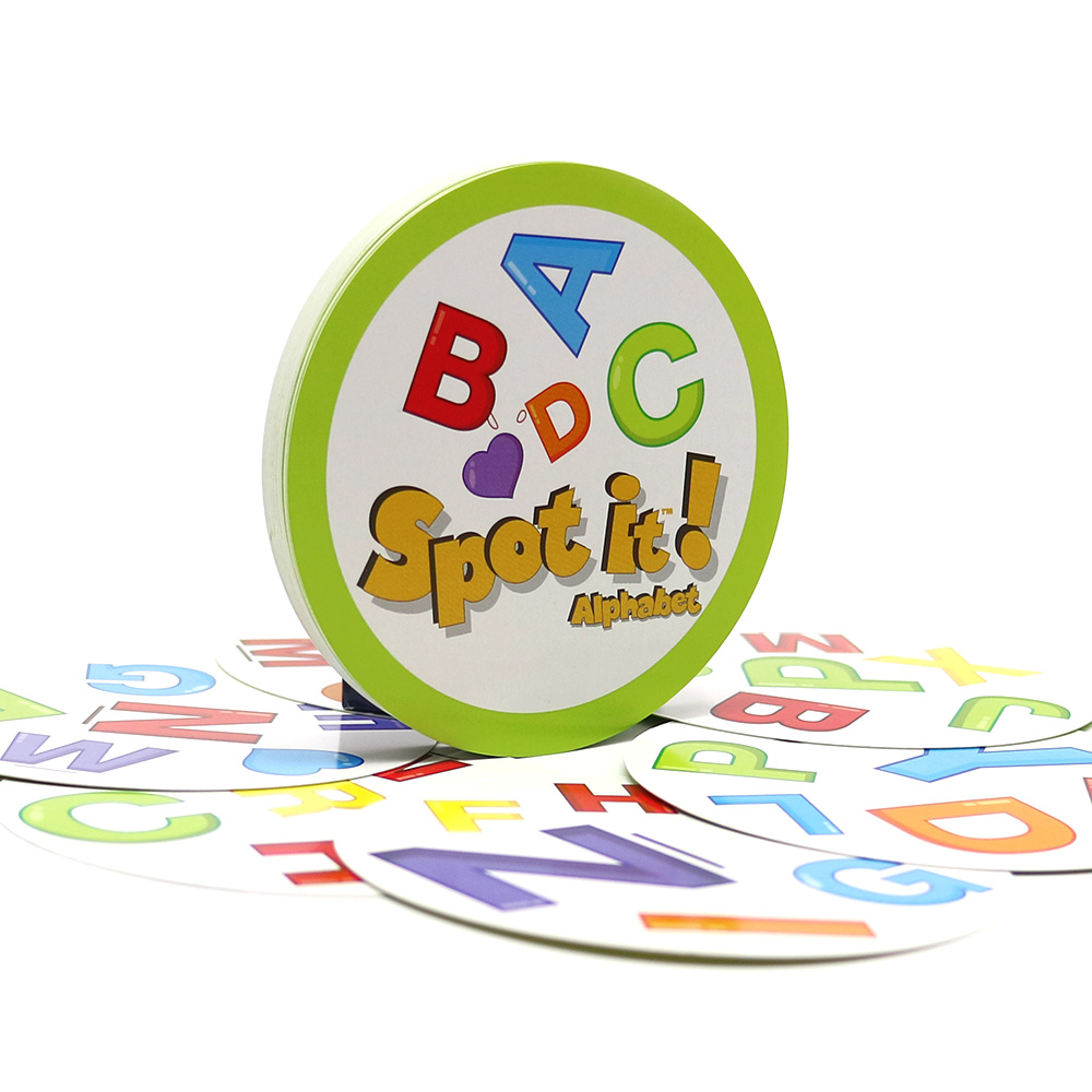 2020 Board Games Spot Letter Cards Game For Kids Education Learn Alphabet Home Party 30 Cards Dobble It