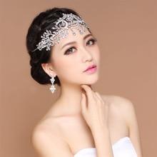 Luxury Elegant Crystal Pearl Bridal Crown Woman Tiaras Hair Jewelry Ornaments Hairwear Bride Headbands Wedding Hair Accessories цена