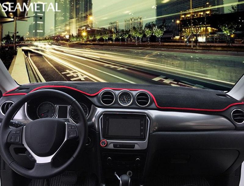 For Suzuki Vitara 4th 2015 2016 2017 2018 LHD Car Dashboard Carpet Pad Protection Interior Decoration Supplies Auto Accessories In Gauge Trim From