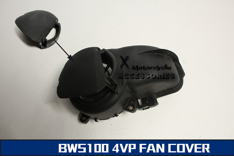 Motorcycle Oil Filler Cap Oil Filter Fan Cover For Bws100 4VP FAN COVER LITTER CAP LITTLE COVER