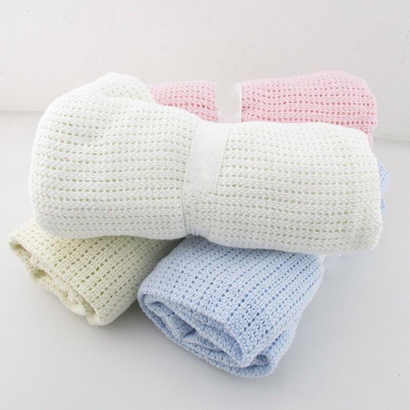 Manta de bebé de algodón súper suave niños mes mantas recién nacido Swaddle bebé envoltura de toalla de baño Niña niño cubierta de paseo Inbakeren