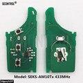 QCONTROL-carte de Circuit électronique clé de voiture | Pour KIA 0678 CE 433-eu tp transmetteur SCK Assy