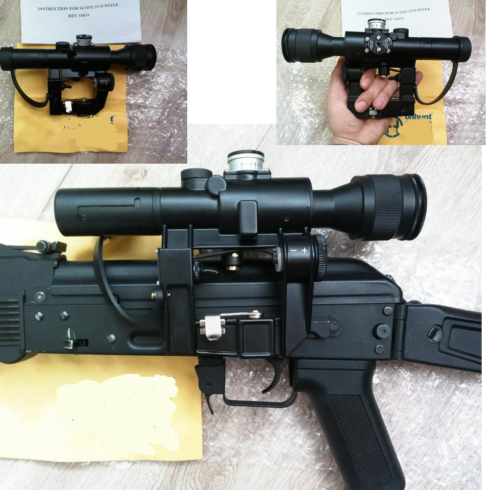 PSO-1. The sniper scope of the PCO is 1. Sniper Optics