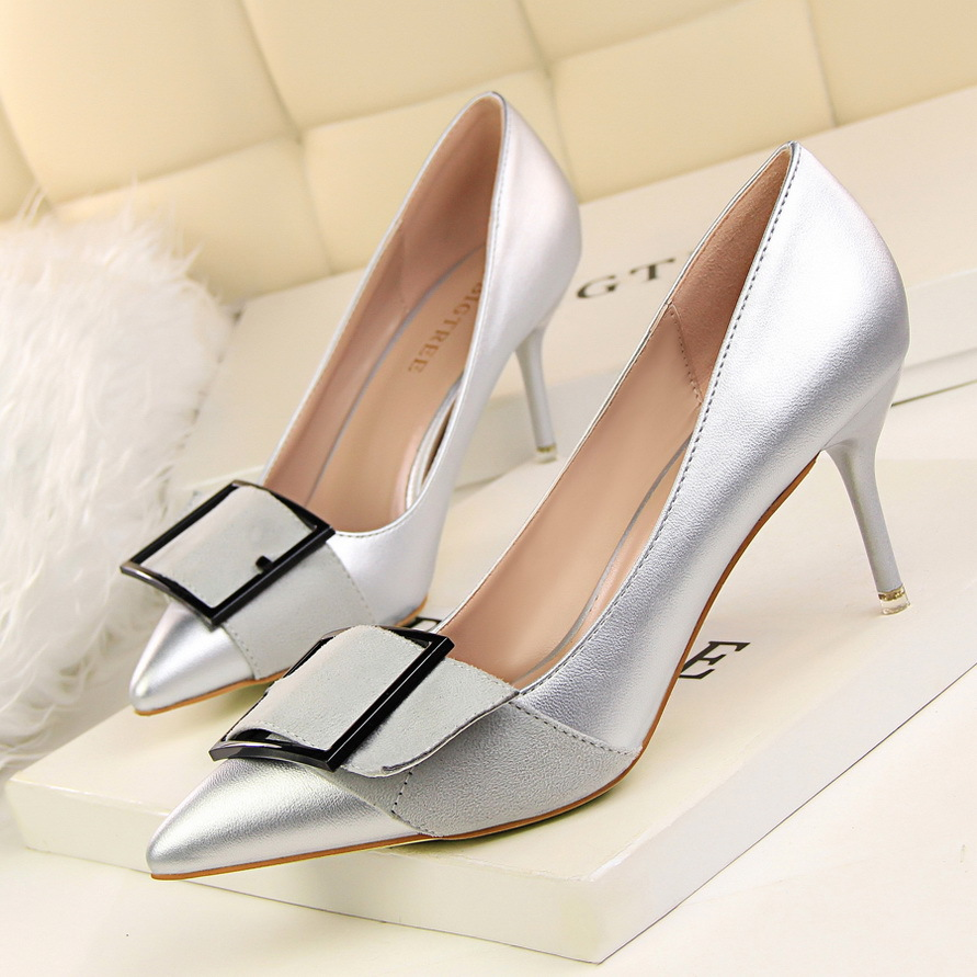 Gray Party Heels Promotion-Shop for Promotional Gray Party Heels ...