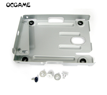 Bandeja de disco duro superfino, soporte para disco duro, caja de soporte de montaje para consola PS3, sistema CECH 4000, serie OCGAME, 12 set/lote