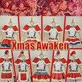 Colección!! Lovelive Sol!! aqours todas las figuras de navidad dress cosplay set completo uniforme personalizar y tamaño de las poblaciones
