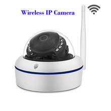 Full HD 720P IP Camera Wireless Home Video Surveillance Smart Dome IR CCTV P2P Android IOS Network Security Dome IP Camera Wifi