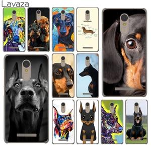 Lavaza Cute Dachshund Doberman Dog Hard Phone Case for Xiaomi Redmi K30 K20 8A 7A 5A 6A Note 8 8T 7 5 6 Pro Cover(China)