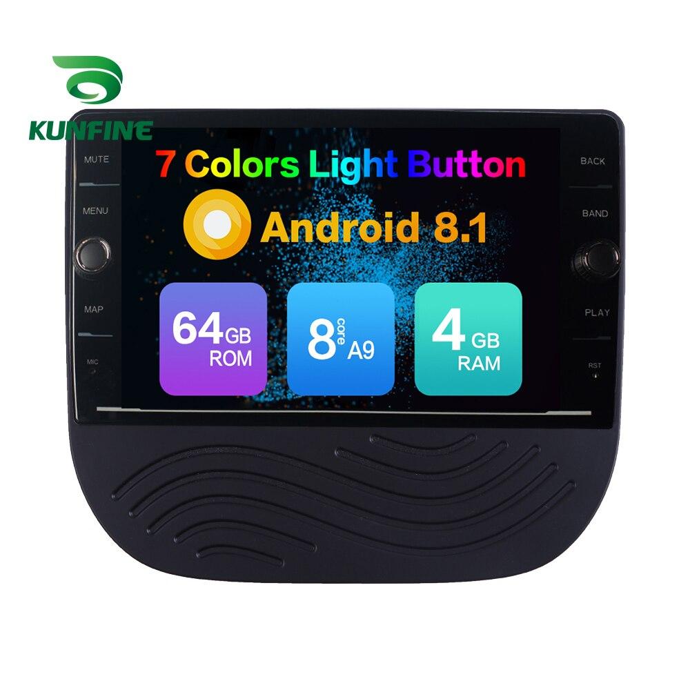 Octa Core 4 GB RAM 64 GB ROM Android 8.1 lecteur DVD GPS de voiture stéréo sans couvercle pour Chevrolet MALIBU XL Radio Headunit dispositif