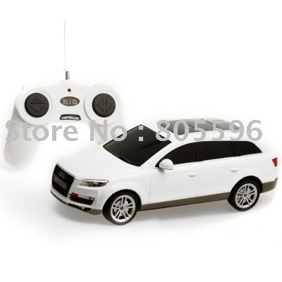 1:24 Audi Q7 автомобиль модель, 4CH R / C пульт дистанционного управления автомобиль, Микро-карты гоночный автомобиль