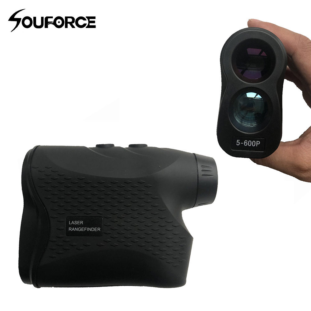 цена Telescope Laser Rangefinder 600m Laser Distance Meter 6X Monocular Golf hunting laser Range Finder Measure sports