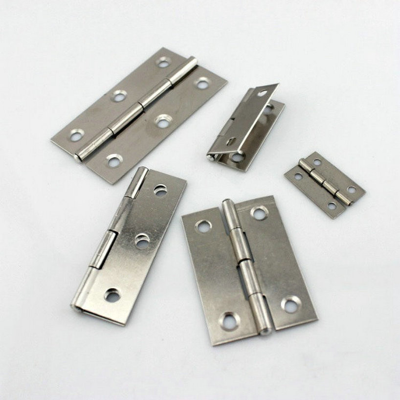 10Pairs/Lot Free Shipping Folding Door Hardware 35MM AISI304 Stainless Steel 304 Door Hinge