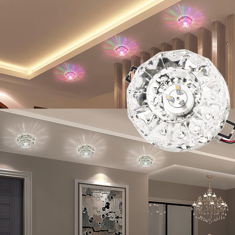 Hohe qualität 3 watt5 watt führte moderne kristall deckenleuchte lampe beleuchtungchina