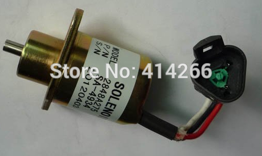 Fuel shutoff solenoid 2848A278 for UB704 ENGINE,24V fuel blends for caribbean power a techno economic feasibility study