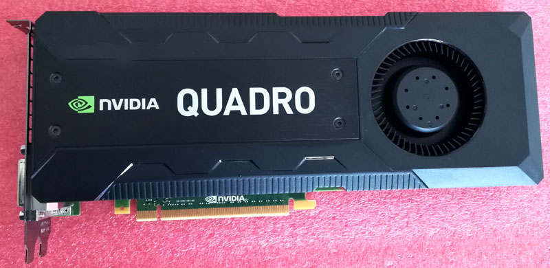 D'origine QUADRO K5200 8g DDR5 X9YDW R93GX carte graphique