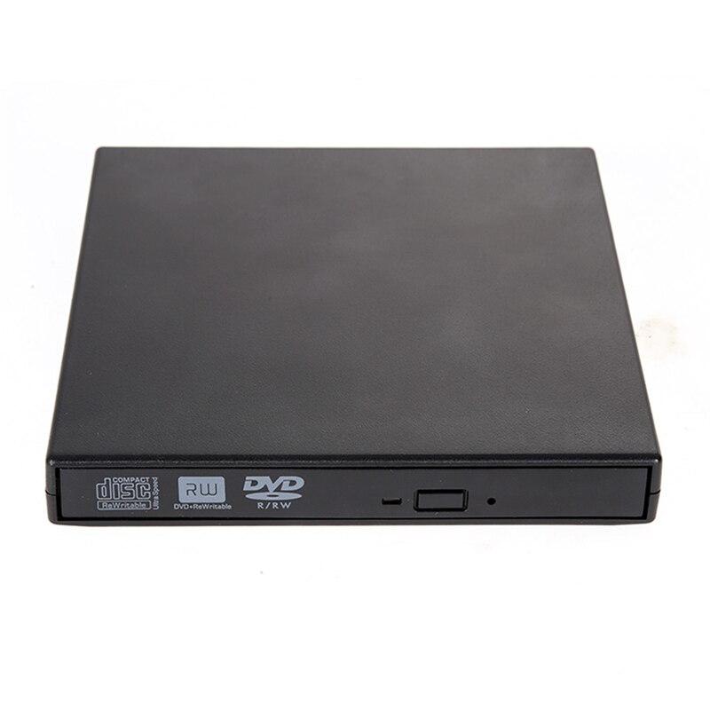 8x DL CD RW DVD RW DVDRW Externo portátil Fino USB Gravador de DVD Externo Unidade de Gravador de DVD para PC Desktop Laptop