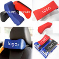 Racing Sport car headrest car neck pillow with pillow Blue, red, black ,gray one pcs sparco PU head pillow four color