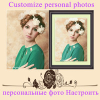 Make Your Own 3D DIY Diamond Painting Full Square Cross Stitch Diamond Embroidery Needlework Personal Picture