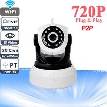 Ihomecam сетевая onvif ip ip-камера инфракрасного видеонаблюдения видения ночного беспроводная камера