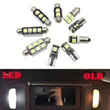 27 шт. Автомобильный светодиодный свет для Audi A6 S6 RS6 C5 C6 C7 Sedan Avant 97-16 Canbus лампочка для салона авто комплект купол Лампы для чтения лампы
