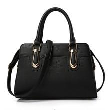 2016 European Fashion Women Business Work Handbag Famous Brand Designer Leather Handbags Ladies Tote Female Single Shoulder Bag