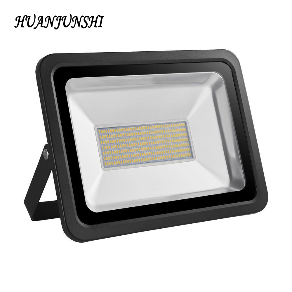2PCS SMD LED Floodlight 300W Reflector Flood Light Spotlight 220V 230V Waterproof IP65 Outdoor Wall Lamp Street Light Projector 2017 ultrathin led flood light 70w cool white ac110 220v waterproof ip65 floodlight spotlight outdoor lighting free shipping
