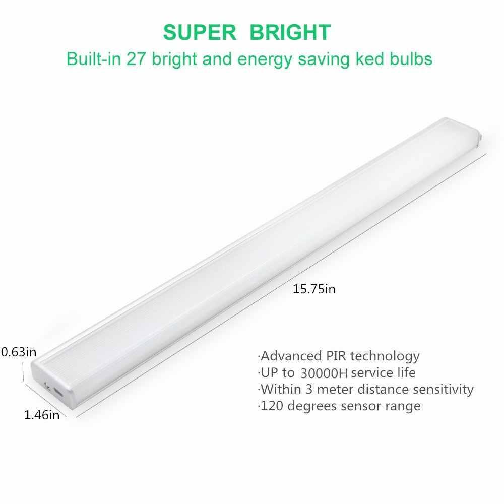 [DBF] 27 Светодиодный светильник энергосберегающий автоматический датчик движения беспроводной PIR шкаф кухня спальня Wall beiindoor Лестницы настенные светильники