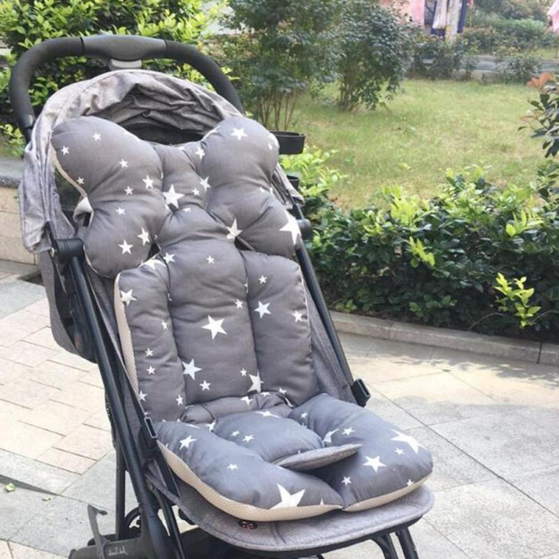 Baby Soft Stroller Pad Car Seat Warm Cushion Mat Mattresses Pillow Cover Child Carriage Cart Thicken Pad Trolley Chair Cushion Strollers Accessories Activity & Gear