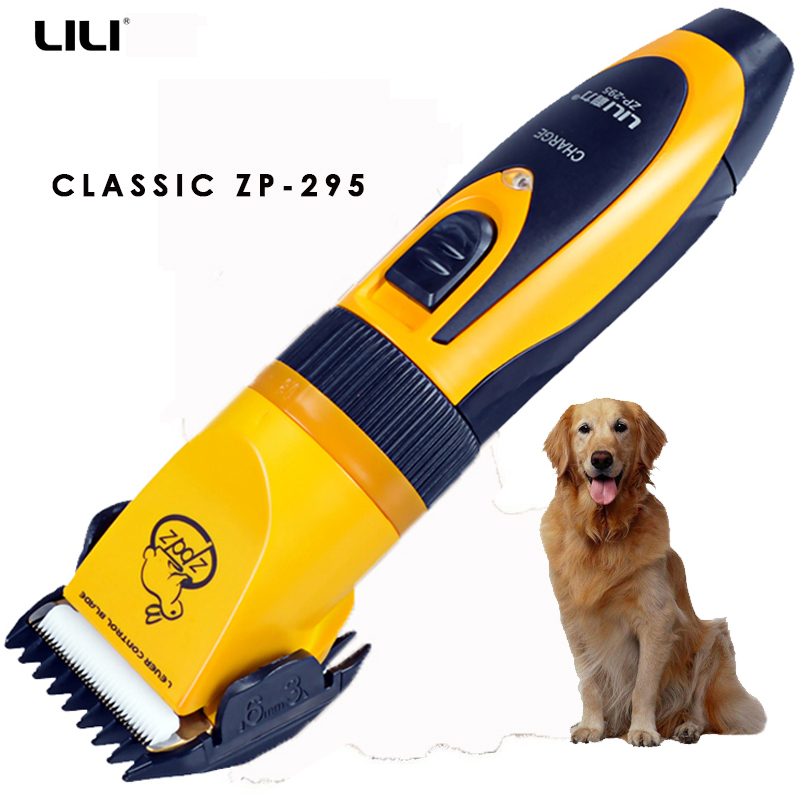 Pet Grooming Kit High Power Electric Pet Hair Clipper Rabbit Cat Dog Hair trimmer rechargeable pet haircut machine 110V-240V 1pc hair remove epilator dog cat brush grooming tools detachable clipper attachment pet trimmer combs for cat pet supply furmins
