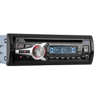 Universal Car Stereo Radio Audio Player CD DVD MP3 Player With FM Aux Input SD USB