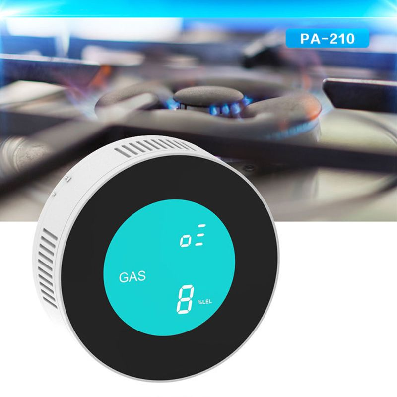 Smart Wireless WIFI Gas Detector Gas Leakage Alarm Sensor for Home Security Remote Control Gadgets with APP Control