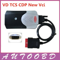 Nueva Forma Negro interfaz Nueva VCI TCS CDP Pro nec relés VD Versión de Software 2015.03 Keygen + para Los Coches y Los Carros y 3 Genéricos en 1
