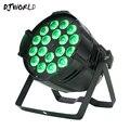 LED Can Par 18x18 Вт алюминиевый сценический прожектор Par с мультичипом RGBWA + UV 6в1 моющиеся огни бизнес-огни профессиональные для вечеринки KTV