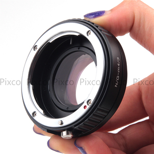 Image 5 - Pixco N.G M 4/3 Speed Booster Focal Reducer Lens Adapter Suit For Nikon F Mount G Lens to Suit for Micro Four Thirds 4/3 Camera