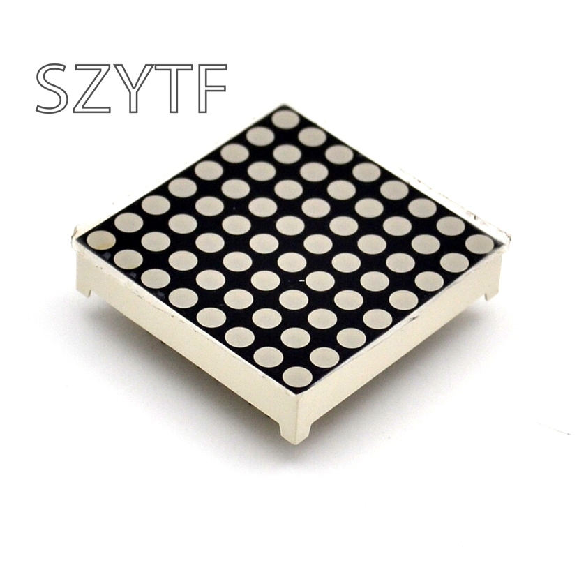 LED Dot Matrix Display 16pin 8x8 3mm Red Common Cathod Common Anode For Arduiino AVR 1088BS/AS
