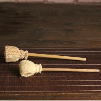 Creative Organic Teaware Washing Brush Made of Loofah Sponge Dish Wash Tool Never Rot Eco-friendly Health Teaware Accessories 1
