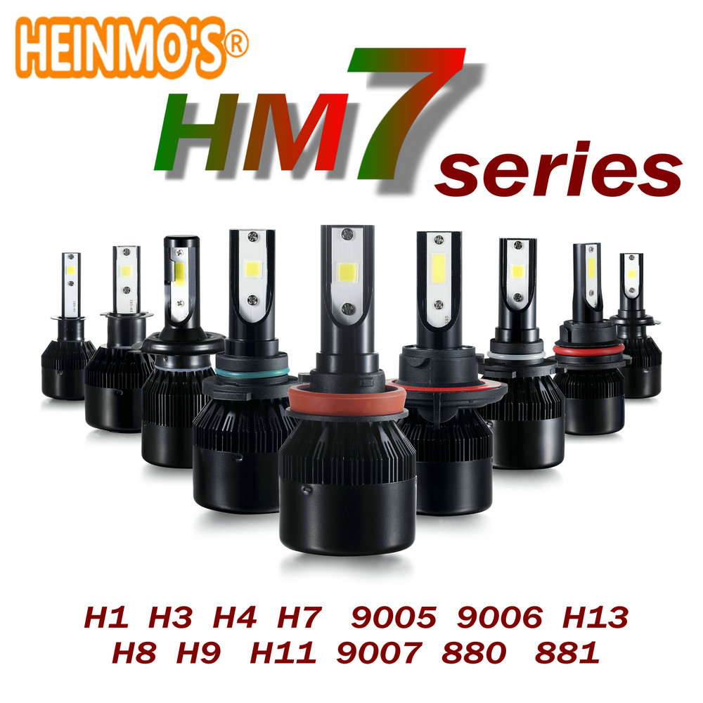 9005 Led Headlight H7 LED Light bulb H1 auto front fog Lamp H4 H3 automobile Bi-Xenon H8 Car headlamp H11 9006 9007 H13 880 881  geetans 80w 8000lm h7 880 h27 h8 h9 h11 hb3 hb4 led automotive headlamp cob car headlight bulb auto front fog light bulbs 6000k