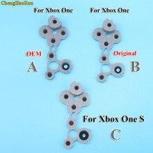 ChengHaoRan Ốp Cao Su Dẫn Điện Nút Cao Su Dành Cho Xbox One Slim S Bộ Điều Khiển D Miếng Lót