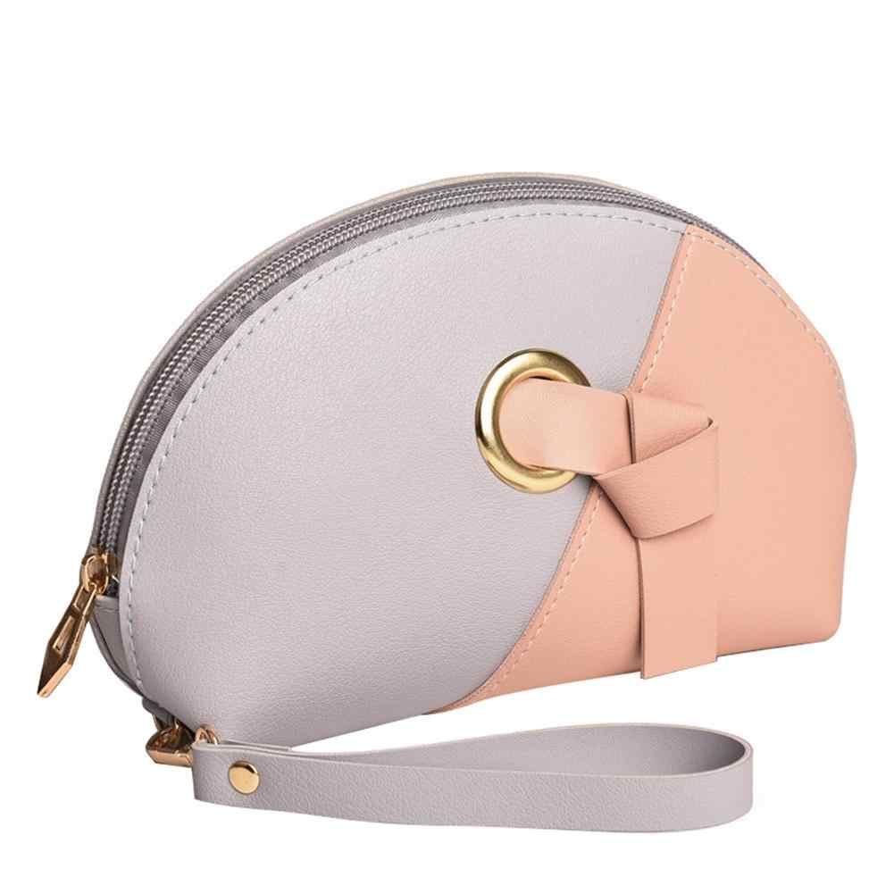 Кожаный цветной замок на молнии, мини кошелек для монет, кошелек, сумки для девочек, маленький кошелек для детей, porta monete donna